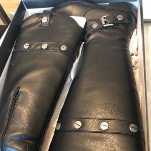 INC black riding boots. Size 9.
